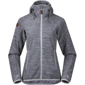 Bergans W's Hareid Fleece Jacket Aluminium Melange
